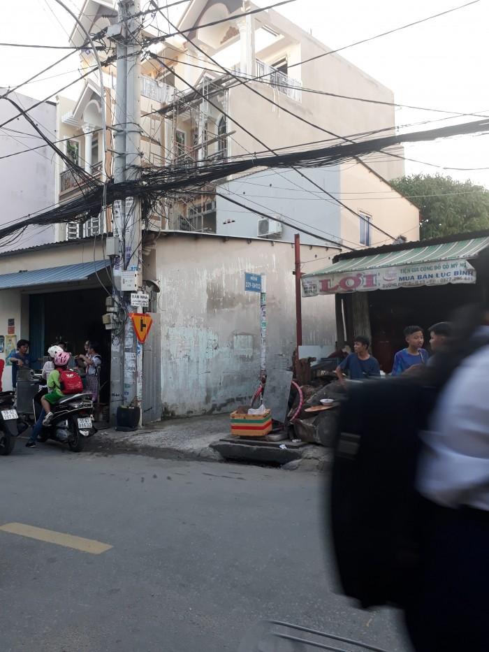 Nhà góc 2 mặt tiền ĐHT 10, 7 x 20, gần trường Phan Bội Châu, phường Đông Hưng Thuận
