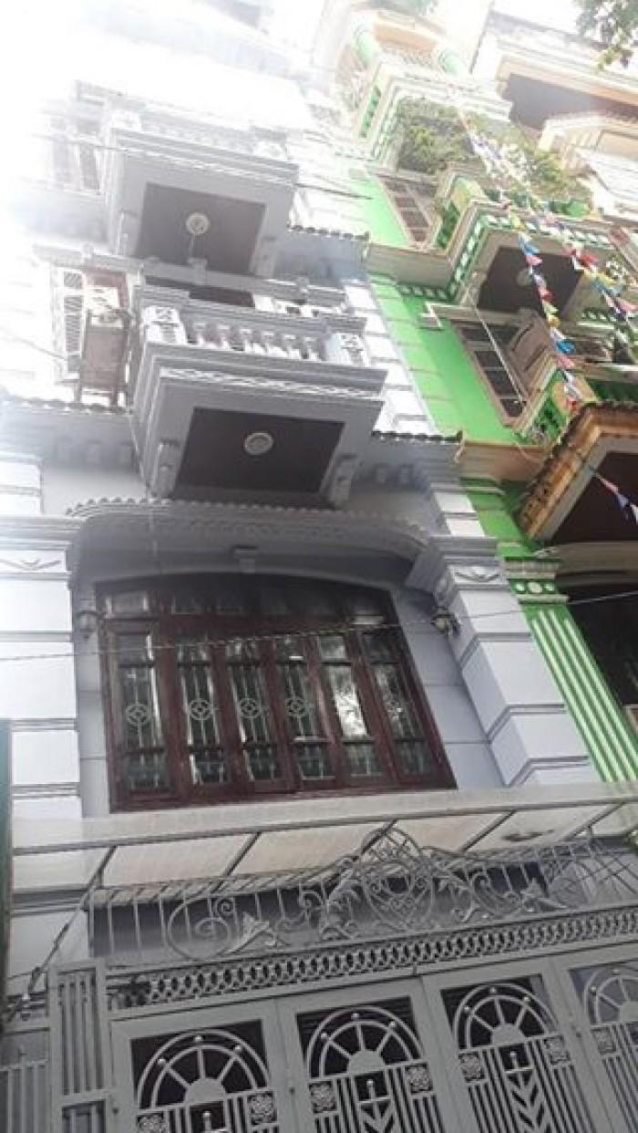 Đẹp, kiên cố 5 tầng, 50m2 vỉa hè, ô tô, kinh doanh Lê Trọng Tấn, Trần Điền, Thanh Xuân xíu