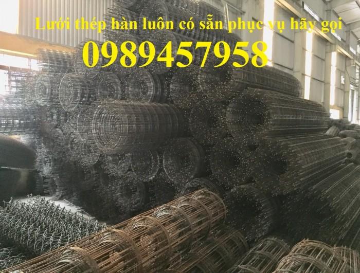 Nhà sản xuất Lưới thép hàn chập phi 6 ô 200x200, D6 200*200, A6 200*2007