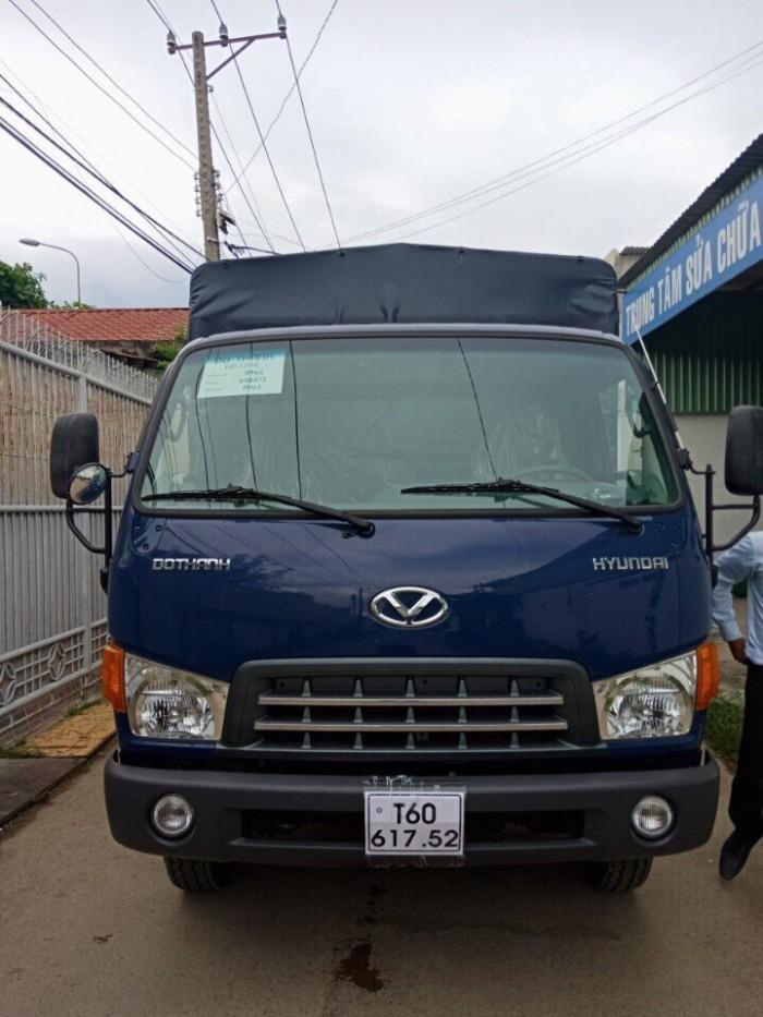 Xe Tải Hyundai Hd120Sl Thùng Dài 6 M3 Tải 8 Tấn