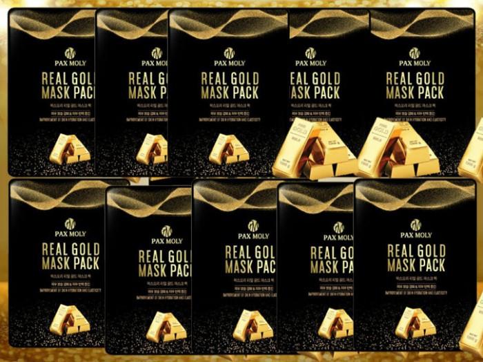 Set 10 Gói Mặt nạ dưỡng da Gold Pax Moly  25mlx10gói