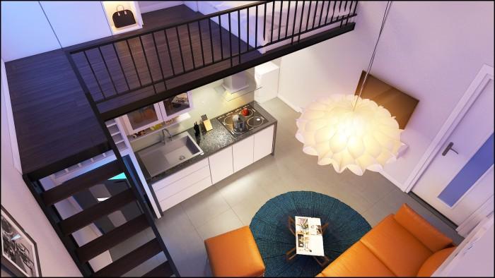 Nhà ở giá rẻ huyện Hóc Môn 340Tr, 40m2, 2PN, Sổ hồng riêng