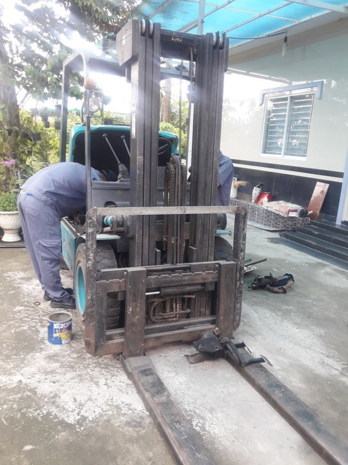 Sửa chữa xe nâng Vĩnh Long, miền Tây giá rẻ