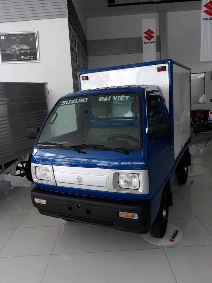 Xe tải suzuki Tặng phí đăng kí và bảo hiểm thân vỏ 1