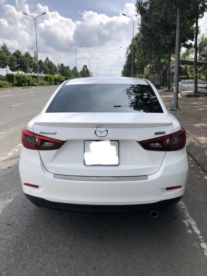 Bán Mazda 2 2018, màu trắng, đúng chất như mới, giá TL, hổ trợ góp