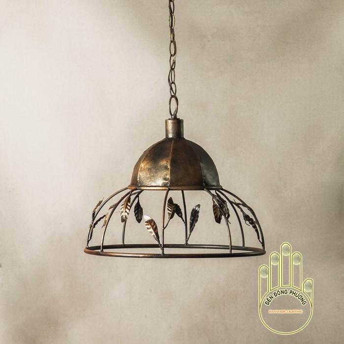 Đèn chùm sắt cổ điển thiết kế cho phòng ăn0