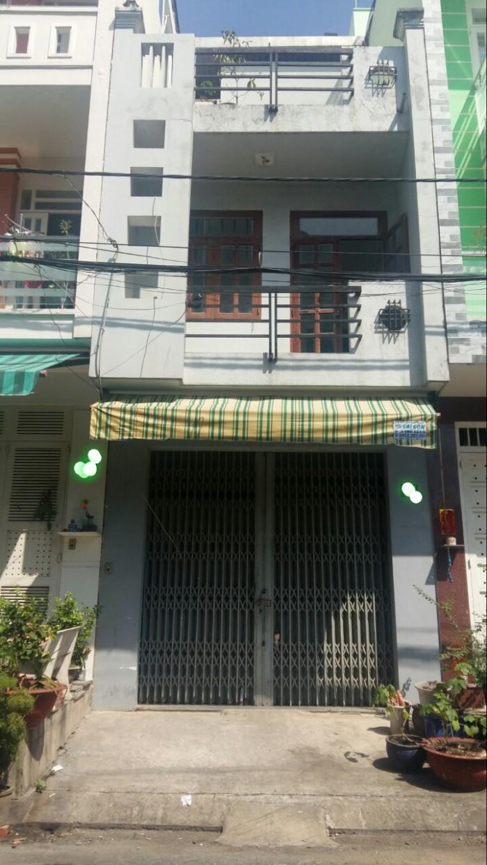 Bán nhà mặt tiền nội bộ Bình Phú 2 P10 Q6 đường 76