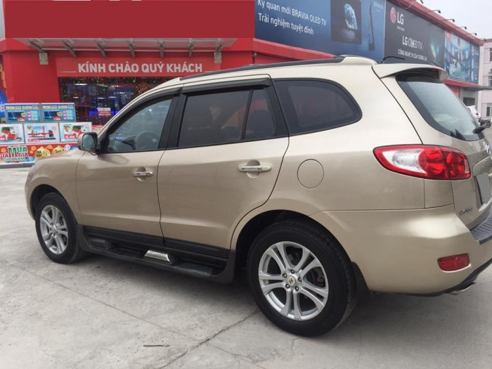Cần Ban Xe Hyundai Santafe 2010 Số San May Xăng Full Option 2 Cầu Mau Vang Cat đinh Xuan Vũ Mbn 46280 0972 293 067