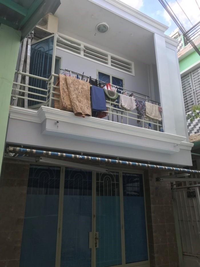Cần bán nhà 1 lầu đúc hẻm 271 Lê Văn Lương, phường Tân Quy, quận 7.
