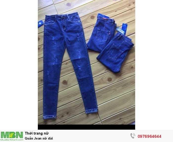 Quần Jean nữ dài0