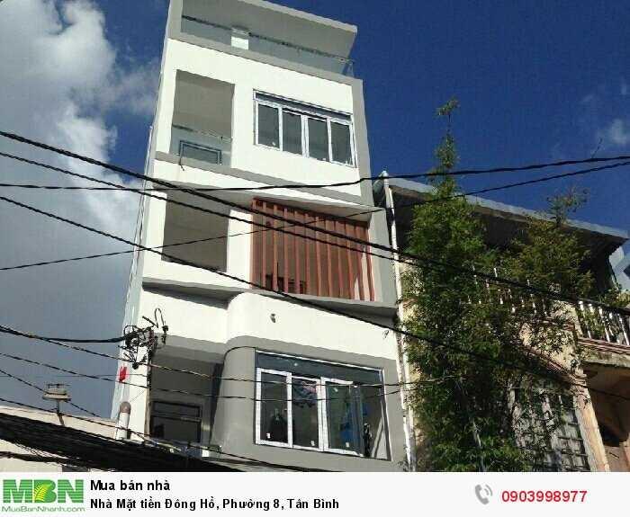 Nhà Mặt tiền Đông Hồ, Phường 8, Tân Bình