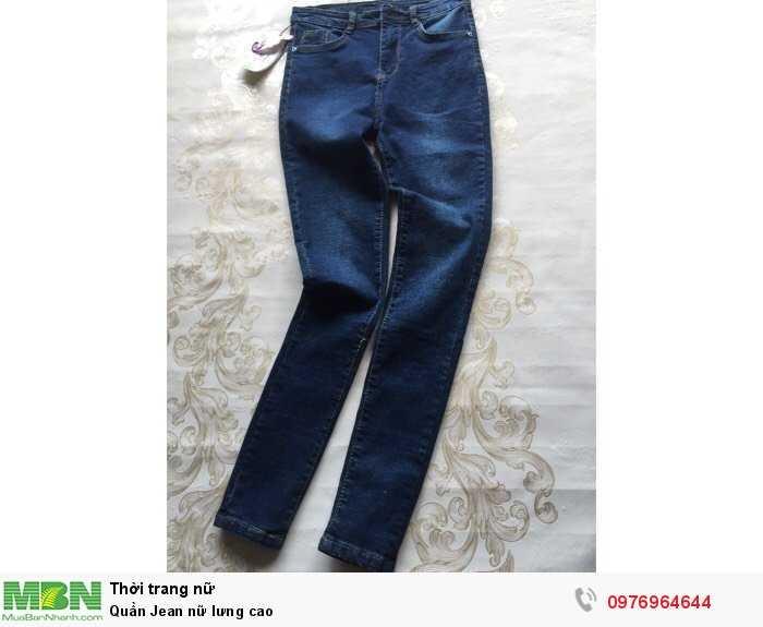 Xưởng chuyên sỉ Quần Jean nữ lưng cao0