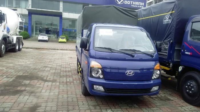 Hyundai New Porter 1.5 Tấn Thùng Bạt