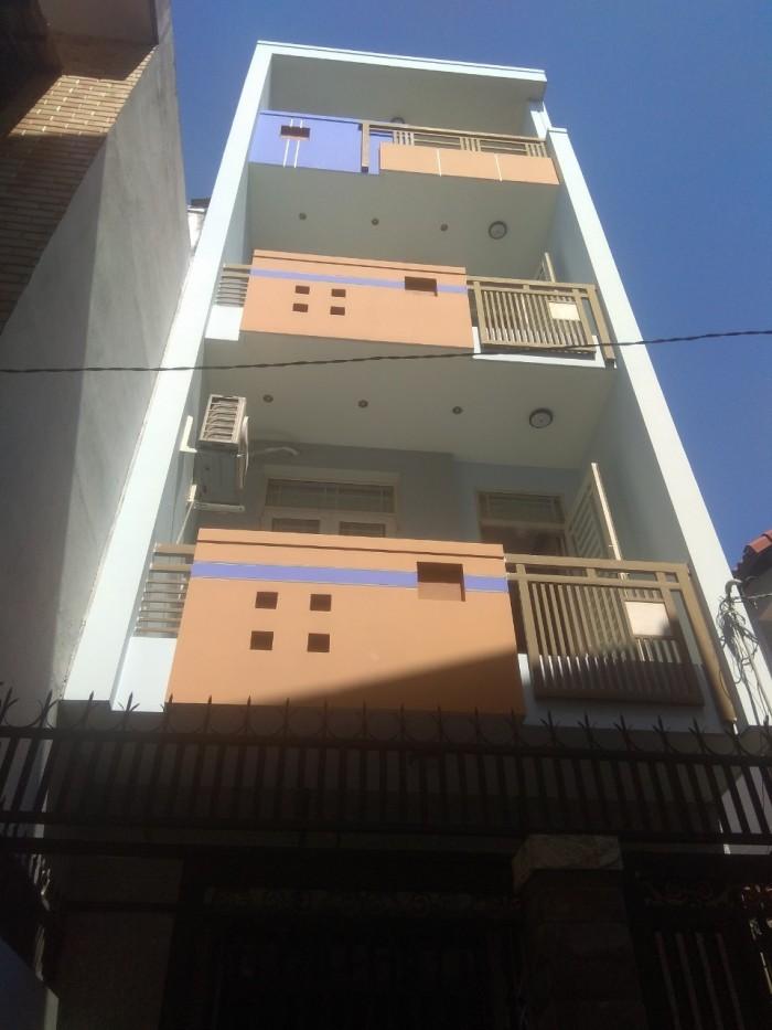 Bán nhà 1 trệt 3 lầu đường 339  phường Phước Long B, Q.9