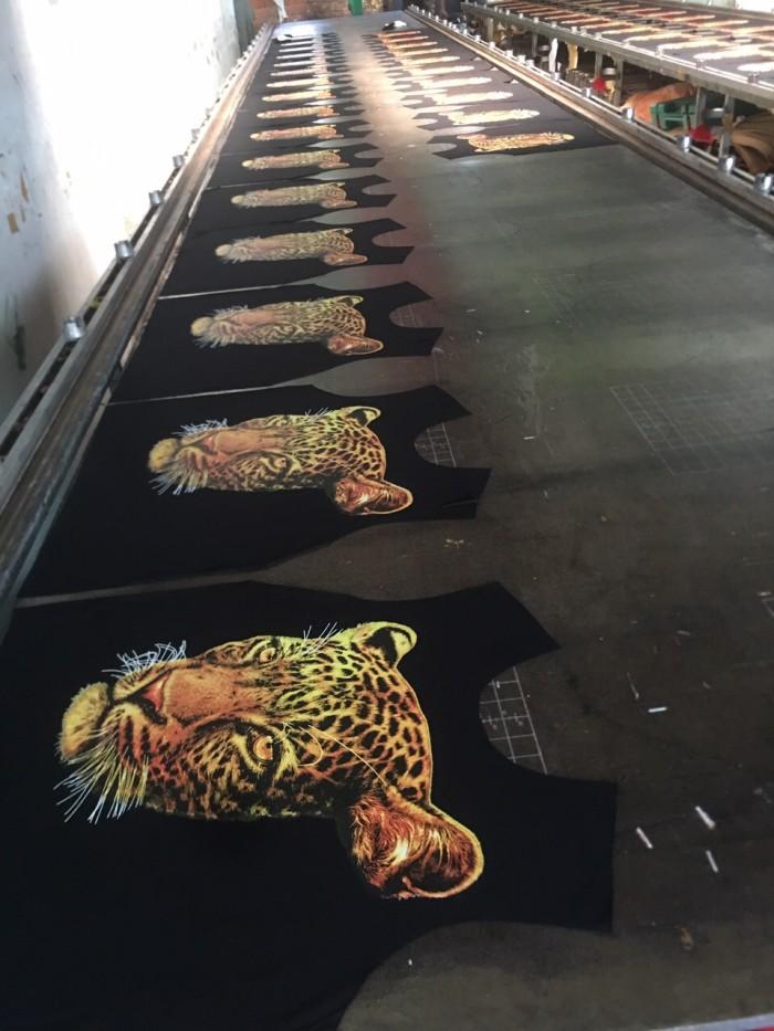 quy trình sản xuất áo thun tại xưởng may limac