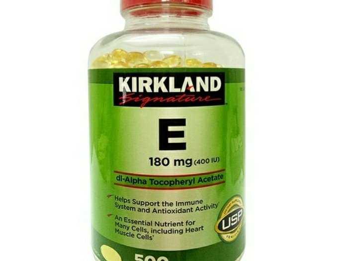 Viên uống vitamin E 400 i.u của Mỹ1