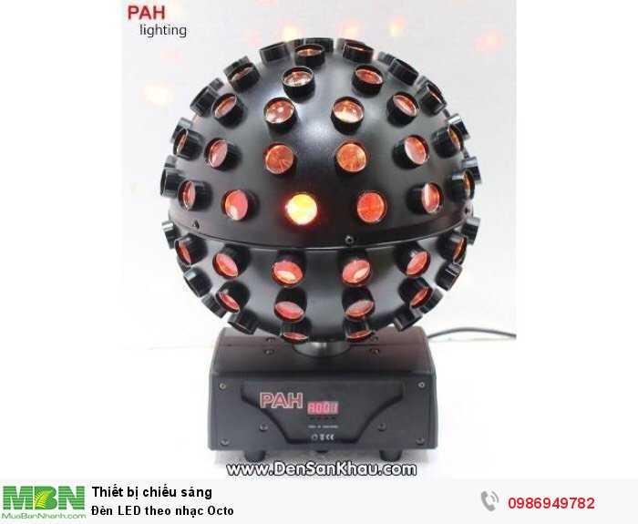 Đèn LED theo nhạc Octo1