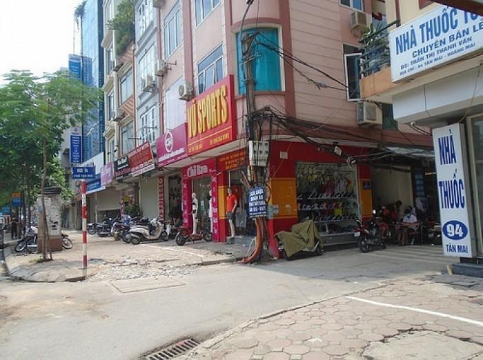 Bán nhà đẹp 5 tầng kinh doanh sầm uất có vỉa hè mặt Phố Tân Mai giá 12 tỷ