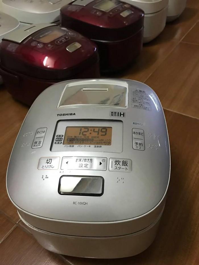 Nồi cơm TOSHIBA 1lit áp suất hút chân không4