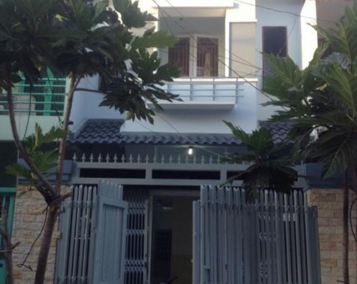 Bán nhà MT hẻm đường Nguyễn Thị Thập, 64m2, Quận7, Diện tích: 4x16m