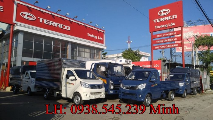 Nơi bán xe 990kg Tera 100 tải nhỏ thùng dài 2m8 máy Mitsubishi tại Bình Dương