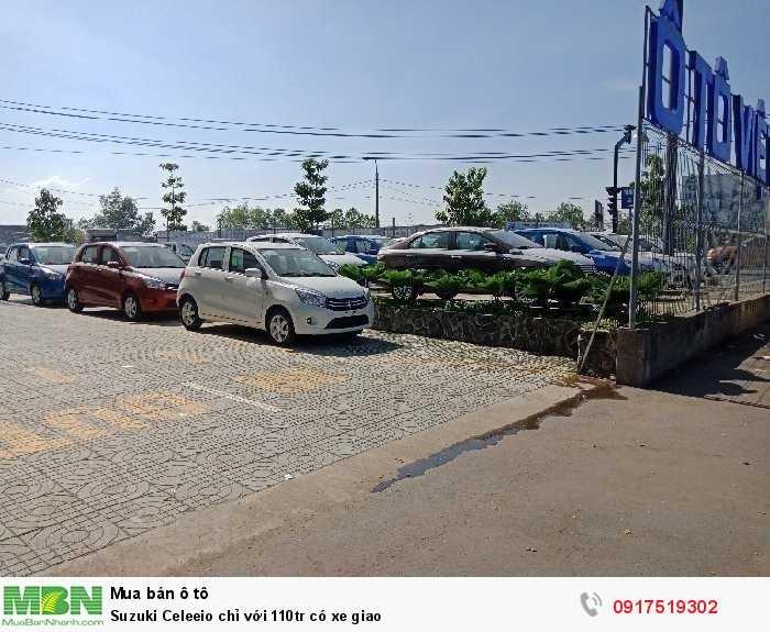 Suzuki Celerio chỉ với 110tr có xe giao