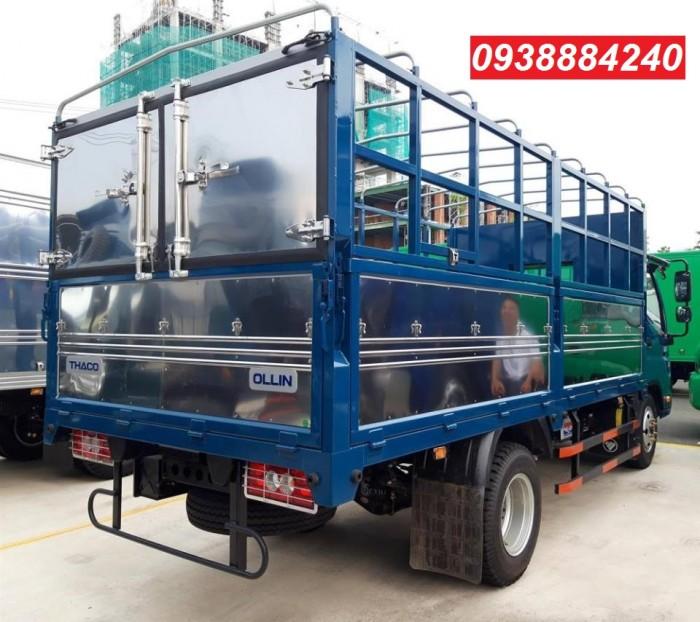 Tặng 100% phí trước bạ xe Thaco Ollin 350 New euro 4 tải 2.4 tấn thùng dài 4.35m - Bán trả góp Tiền Giang Long An Bến Tre 2