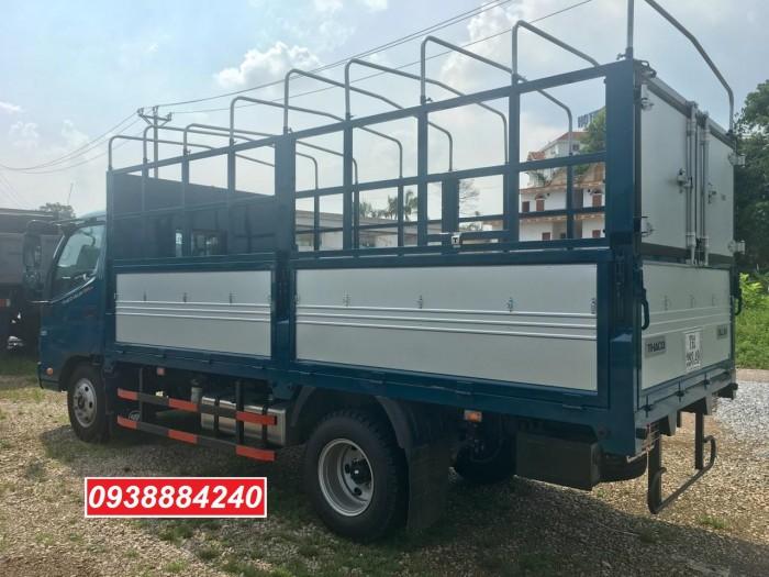 Tặng 100% phí trước bạ xe Thaco Ollin 350 New euro 4 tải 2.4 tấn thùng dài 4.35m - Bán trả góp Tiền Giang Long An Bến Tre 3