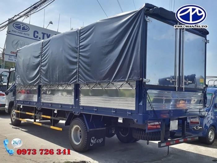 Xe tải HyunDai 7t3 thùng dài 6m2.