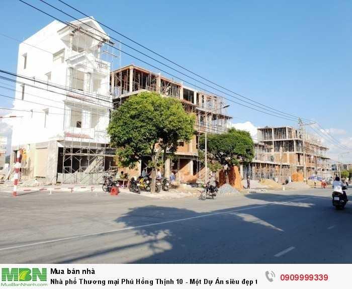 Nhà phố Thương mại Phú Hồng Thịnh 10 - Một Dự Án siêu đẹp tại Dĩ An Bình Dương