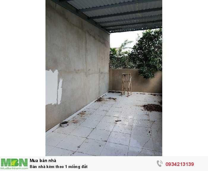 Bán nhà kèm theo 1 miếng đất