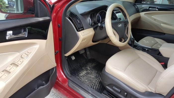 Bán Sonata 2011, màu đỏ, đúng chất, biển SG số đôi, giá TL, hổ trợ góp