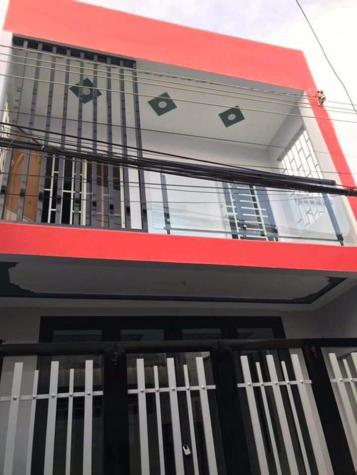 Bán nhà 1 trệt 1 lầu đường Nguyễn Văn Linh