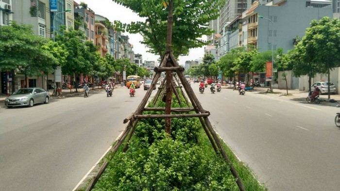 Bán nhà đẹp 5 tầng, ô tô tránh, có vỉa hè, mặt Phố Kim Đồng giá 8 tỷ
