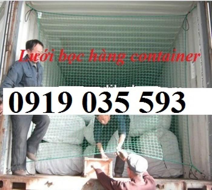 Lưới dùng để bao hàng hóa cho xe container, xe tải, palet... LH 0919.035.593 Giao ship toàn quốc