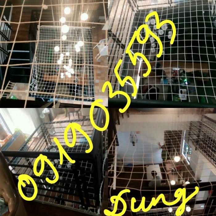lưới chắn giếng trời cầu thang ban công trường học chung cư9