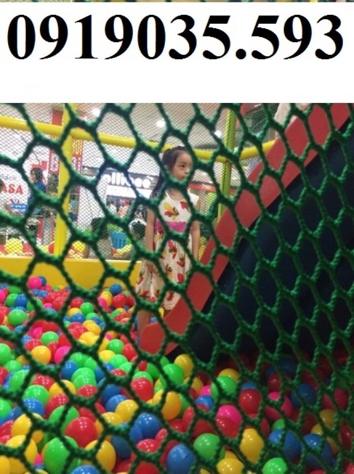 lưới chắn giếng trời cầu thang ban công trường học chung cư7