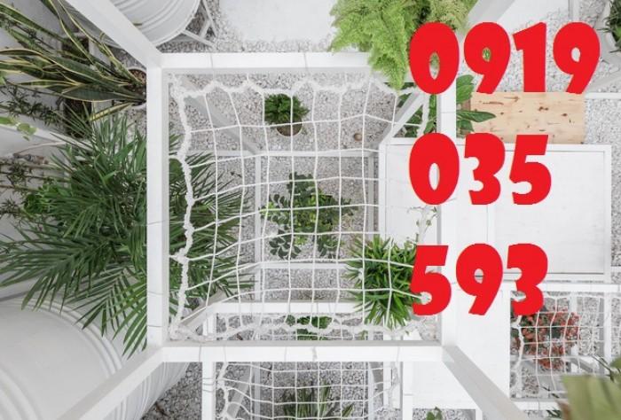lưới chắn giếng trời cầu thang ban công trường học chung cư14