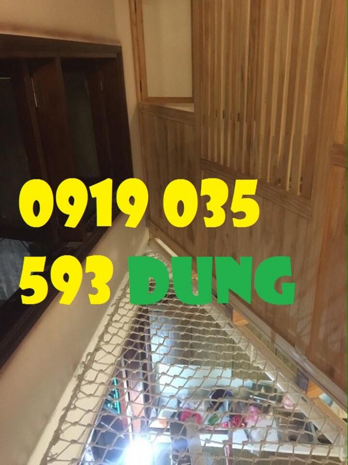 lưới chắn giếng trời cầu thang ban công trường học chung cư6