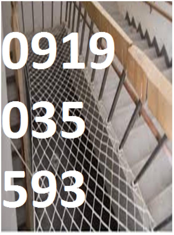 lưới chắn giếng trời cầu thang ban công trường học chung cư16