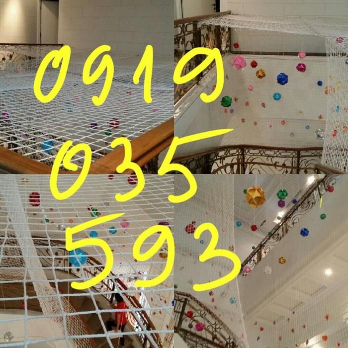 lưới chắn giếng trời cầu thang ban công trường học chung cư13