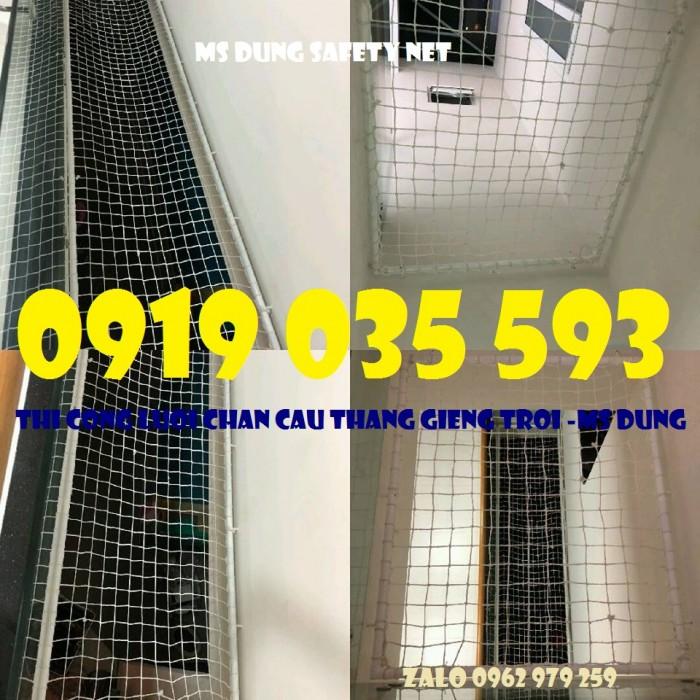 lưới chắn giếng trời cầu thang ban công trường học chung cư11