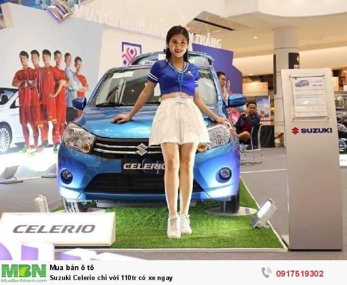 Suzuki Celerio chỉ với 110tr có xe ngay