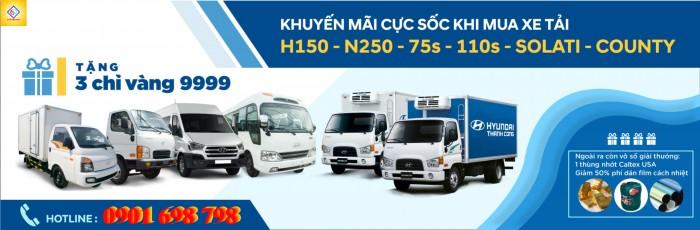 Xe Tải Hyundai 2,5 Tấn Giá Rẻ 0