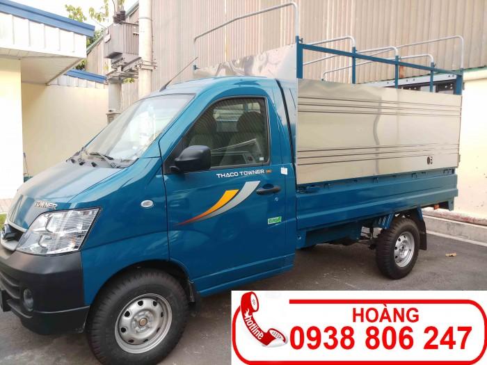 Xe tải Thaco Towner990 tải trong 990kg -  Tặng 100% phí trước bạ - Giá xe tải 750 kg
