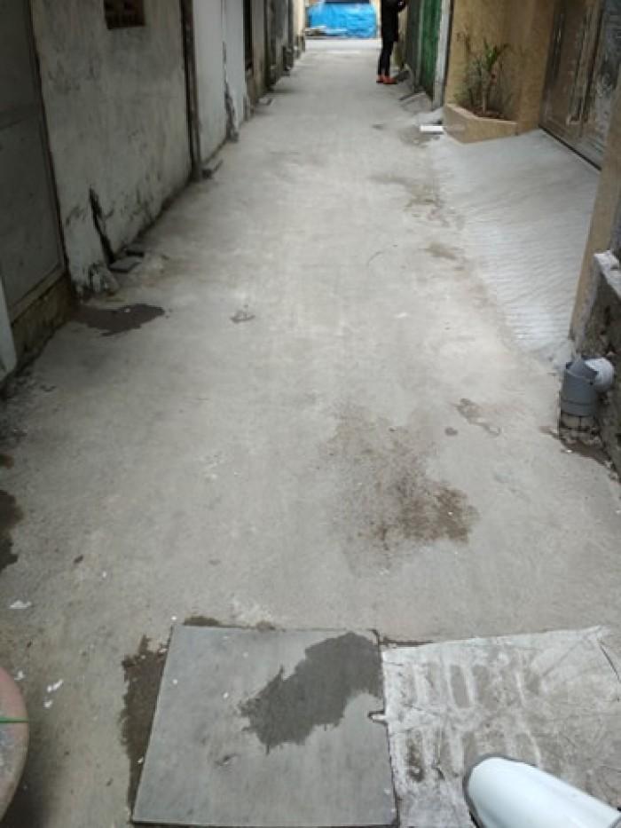 Bán đất có nhà 3 tầng cũ khu Diêm Gỗ, Đức Giang 65.5m có thể chia đôi.