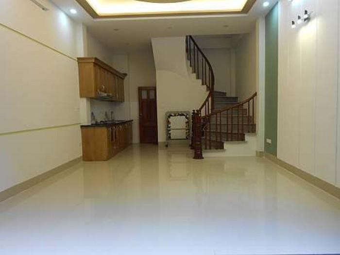 Nhà 4 tầng đẹp mới ngõ rộng thoáng Hào Nam