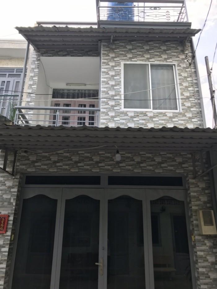 Cần Bán Nhà Hẻm 4m Đường Trương Phước Phan . Quận Bình Tân