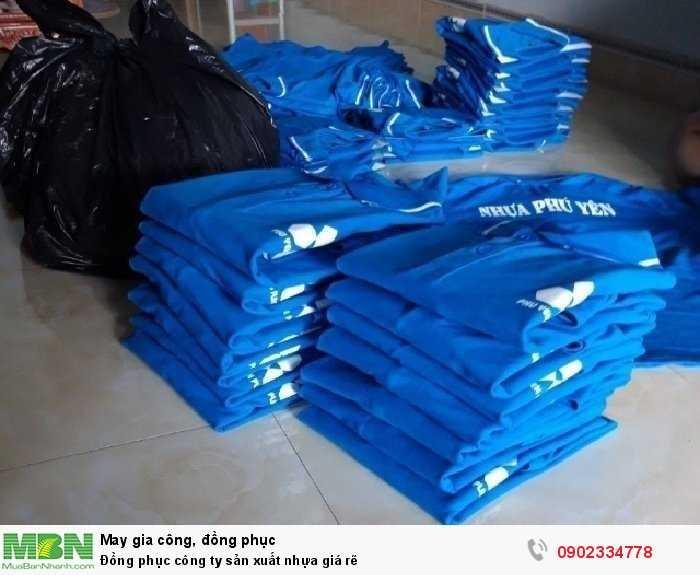 Đồng phục công ty sản xuất nhựa giá rẽ