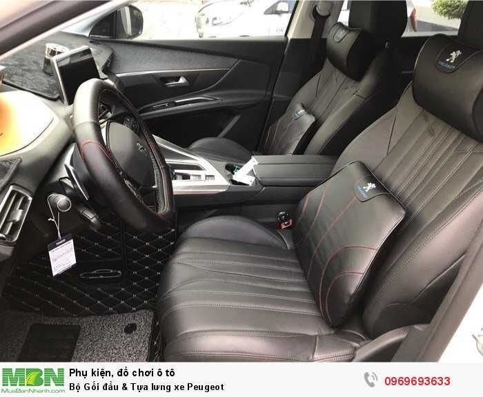 Bộ Gối đầu & Tựa lưng xe Peugeot